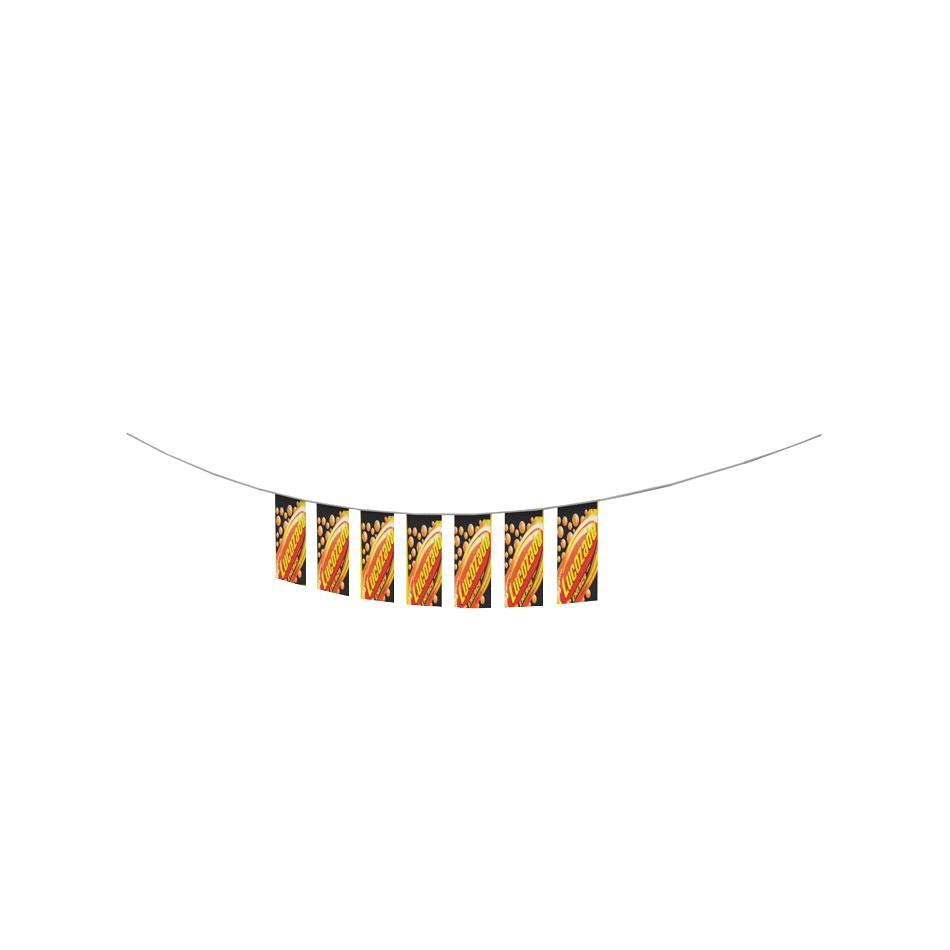 PVC PENNANT RECTANGULAR
